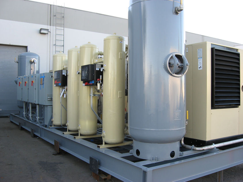 compressed air skid 2
